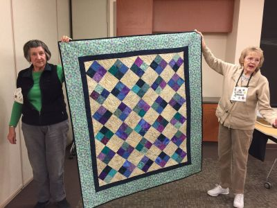 Barbara's Stash Quilt