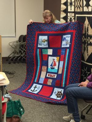 Quilt for Wesley