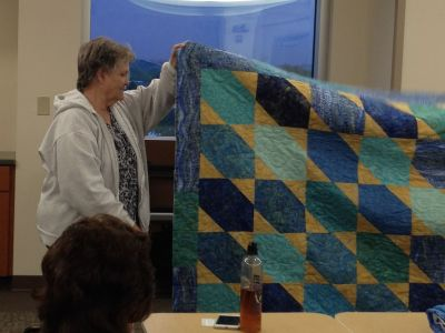 Another quilt made by Mary