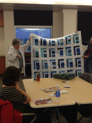 Mary's quilt for her grand niece