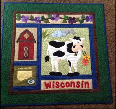 Wisconsin Wallhanging