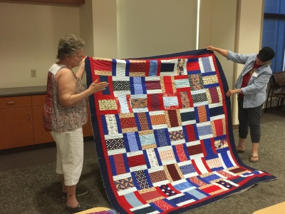 Quilt of Valor by Smokey Hill Quilters