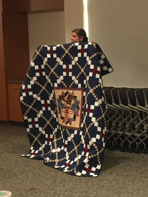 Quilt of Valor by Gwyn