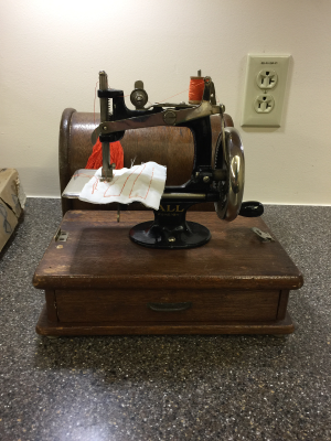 Very old sewing machine