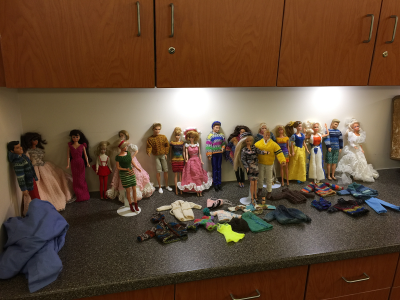 Barbies, and more Barbies!