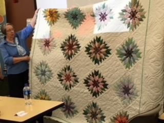 Quilt designed by Leslie Johnson