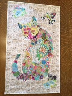 Jacqui's Cat quilt
