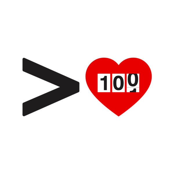 Greater Than 100 Hearts
