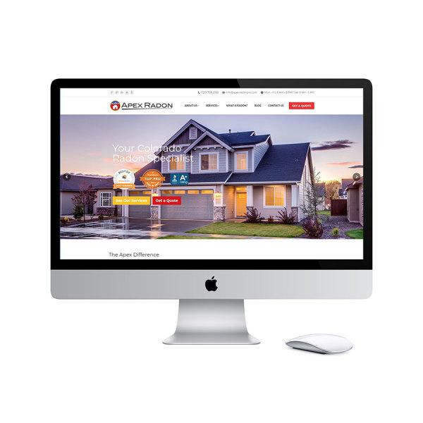 Apex Radon Website