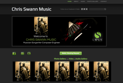Artist & Producer Chris Swann