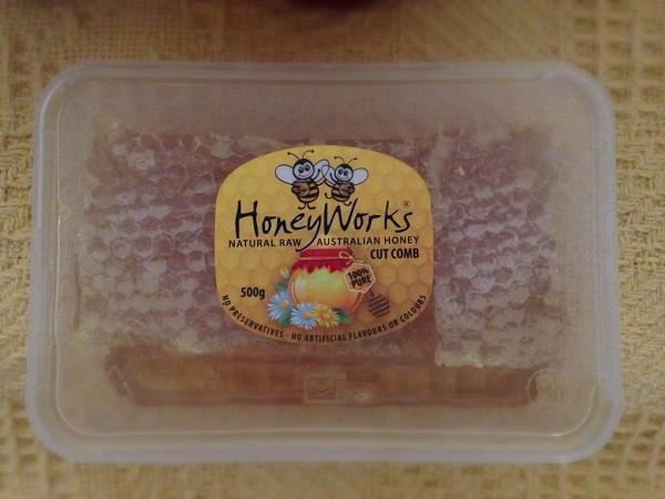 HoneyWorks Cut Comb honey queensland