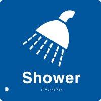 Adriatic train hostel shower