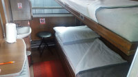 Adriatic train hostel Zagreb Beds