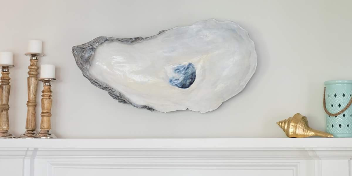 Large oyster wall art