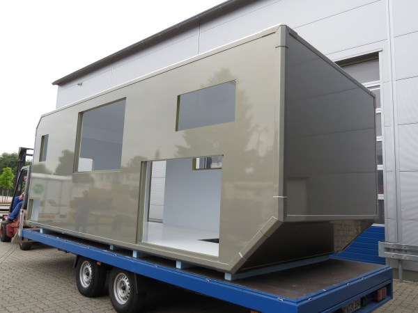 custom made rv box sandwich panel