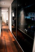 rimadesio, velaria, glass doors, hardwood floor, walnut floor