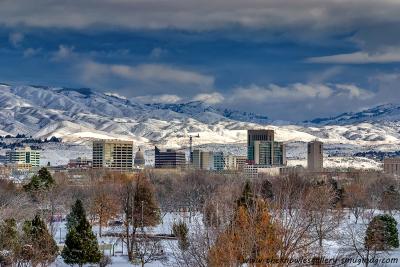 14-Winter in Boise ID