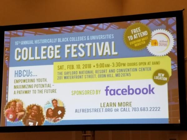 HBCU College Festival | February 10, 2018