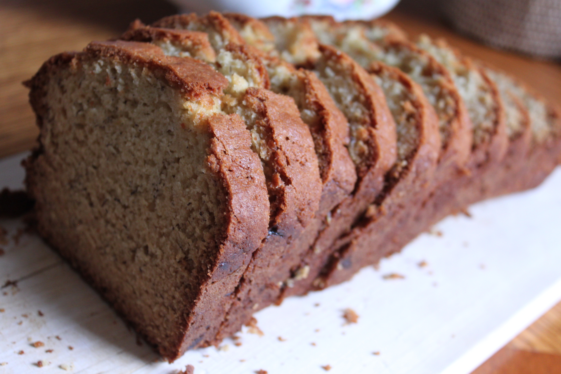 Nutless Banana Bread