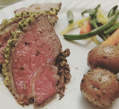 Herb Encrusted Leg of Lamb Recipe
