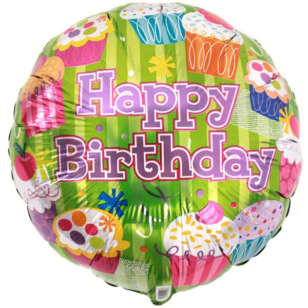 Birthday balloons girls-variety of styles