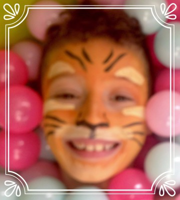 face paint tiger