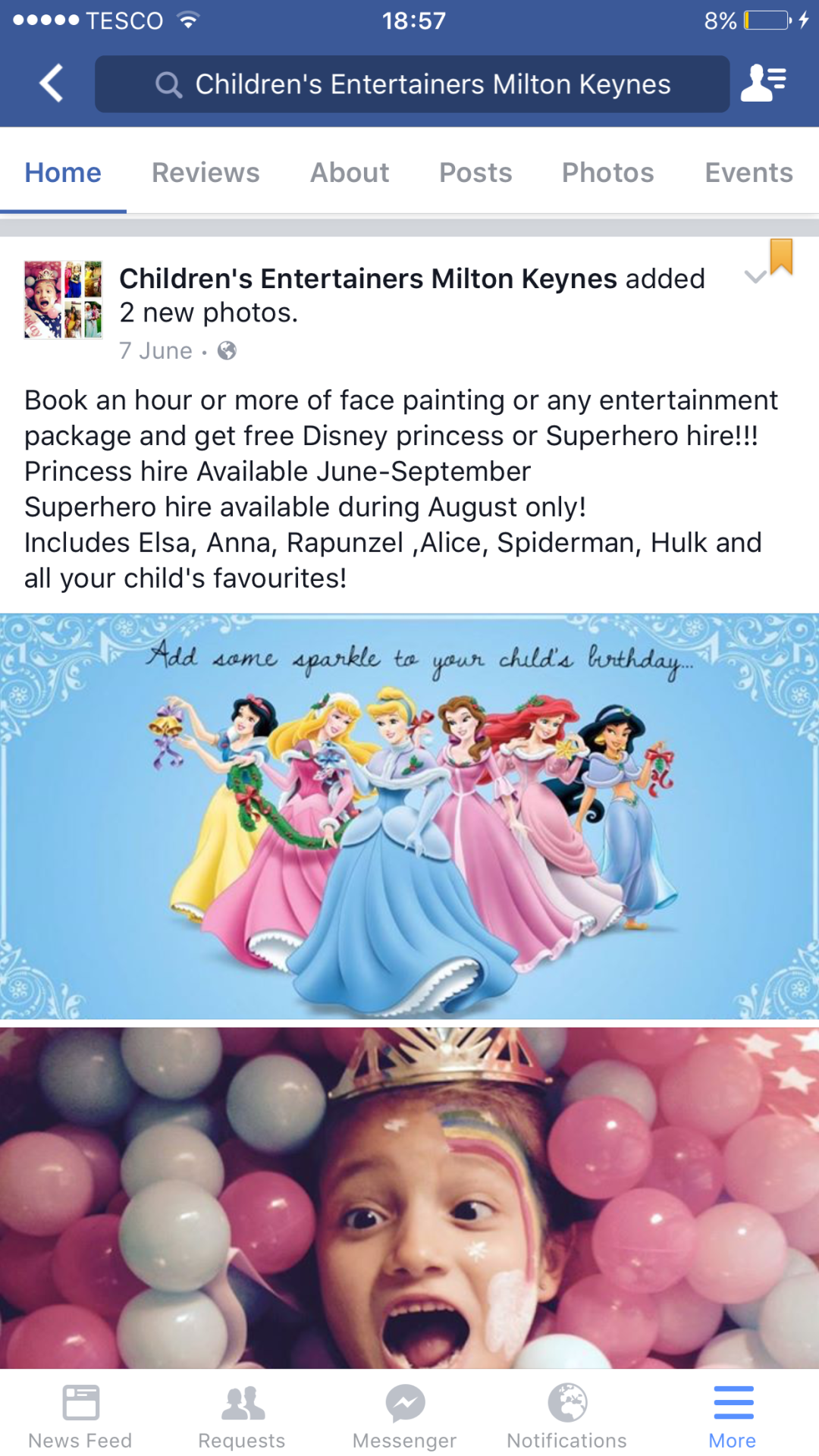disney princess hire