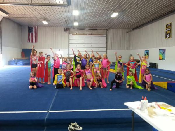 Summer Camp-Super Hero Day