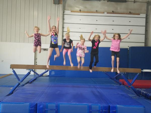 Paige Cronk's Birthday- JUMP!!
