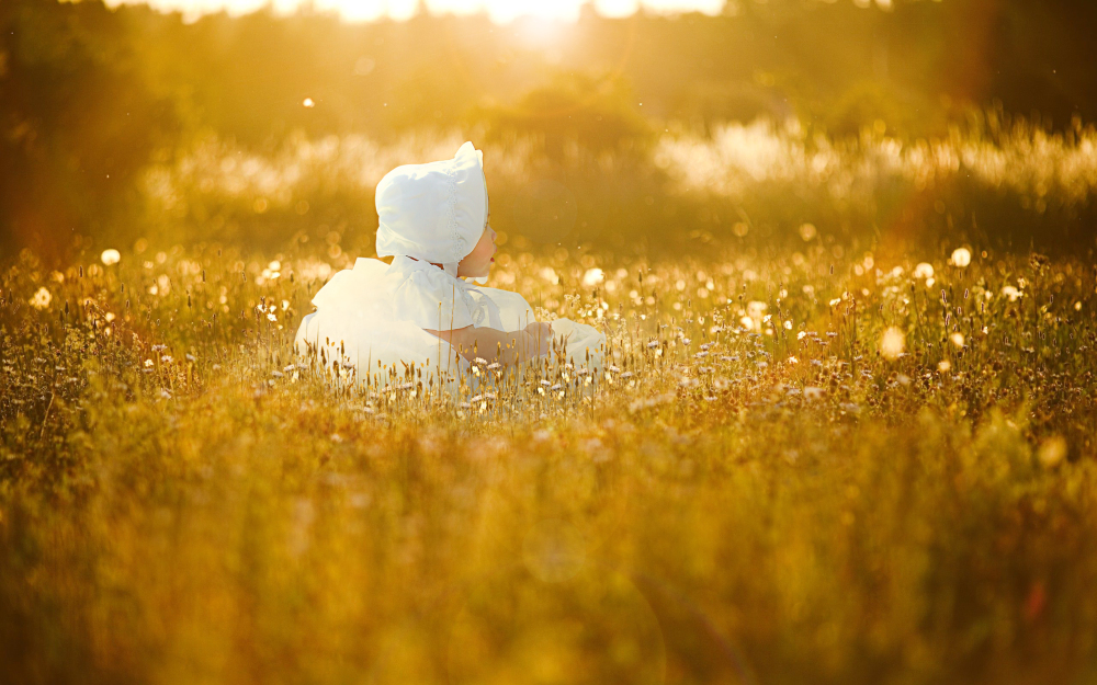 Under the golden sun