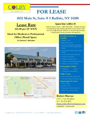 1832 Main Street, Suite #5 - Buffalo, NY