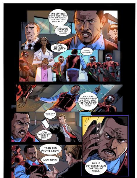 Keisha Carter is Mega Woman #1 Synopsis.