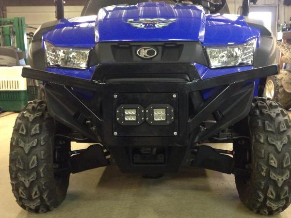 KYMCO UXV 450I Bumper LED KIT