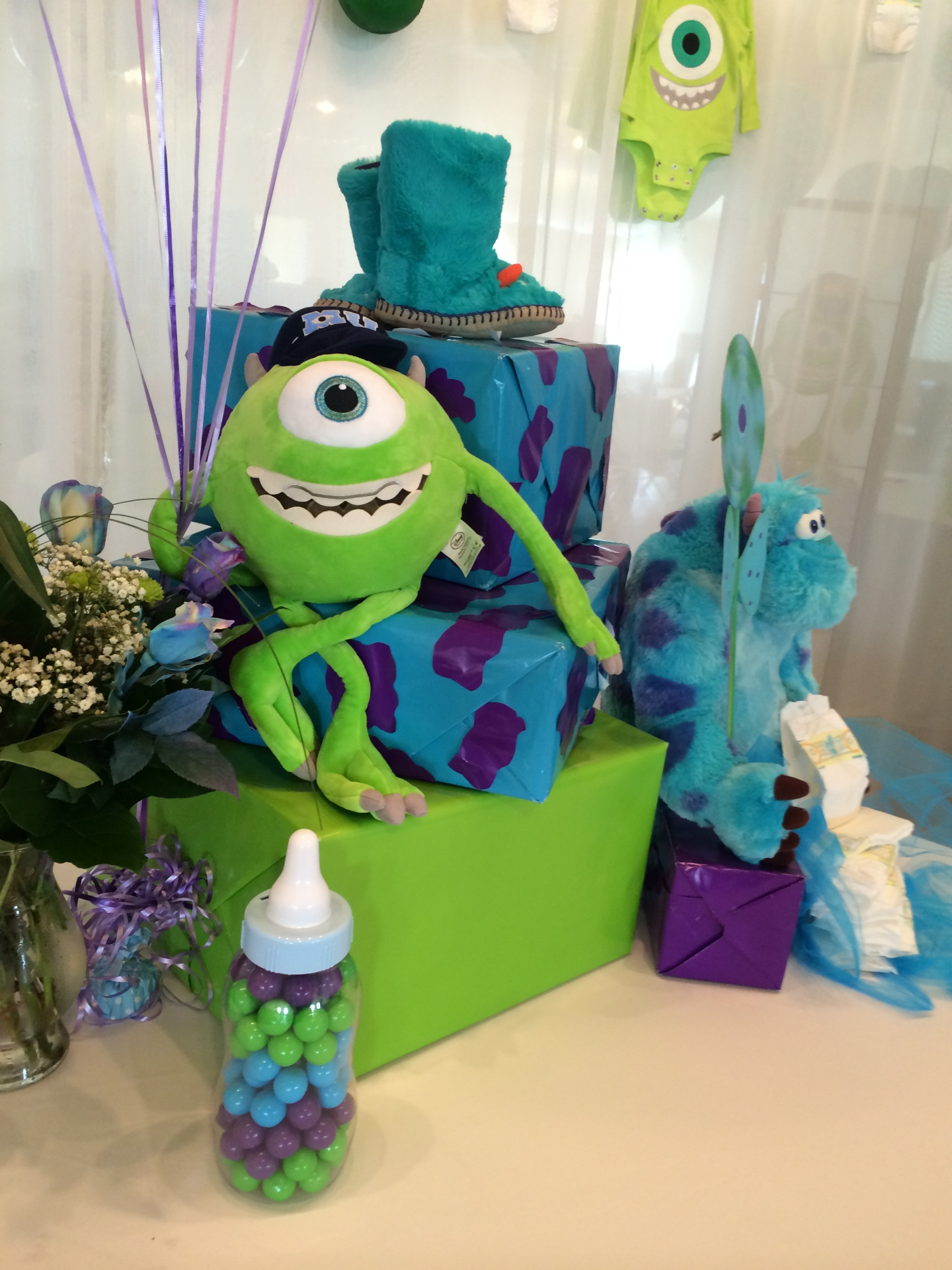 Monsters Inc Theme Baby Shower