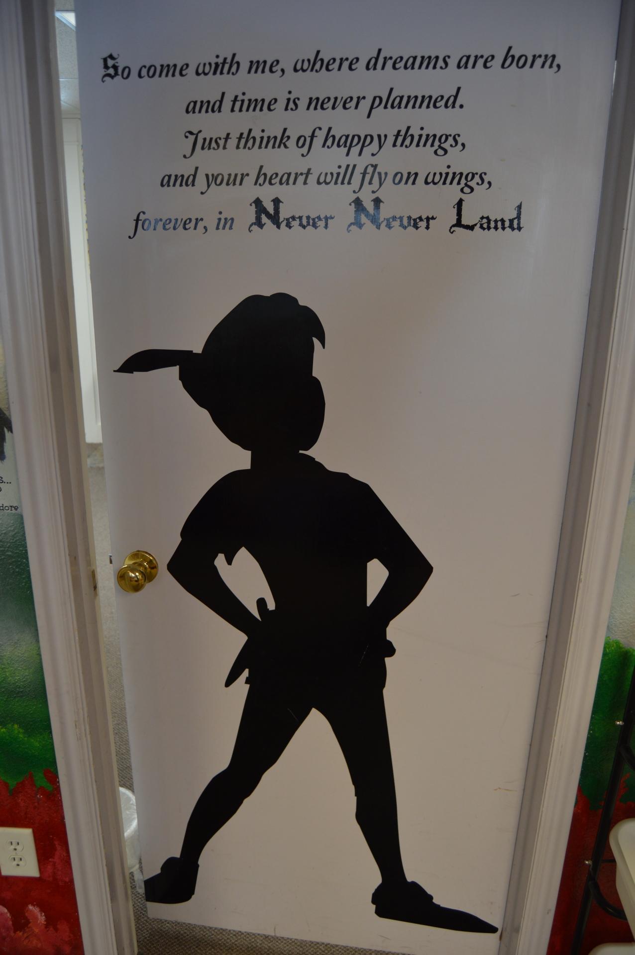 Peter Pan Door