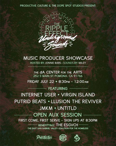 Ripple Effect Producer Showcase | Pomona