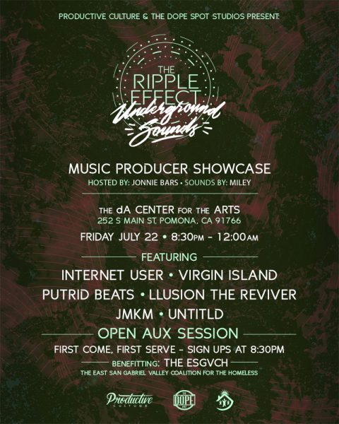 Ripple Effect Producer Showcase | Pomona