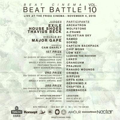 Beat Cinema Beat Battle Vol. 10