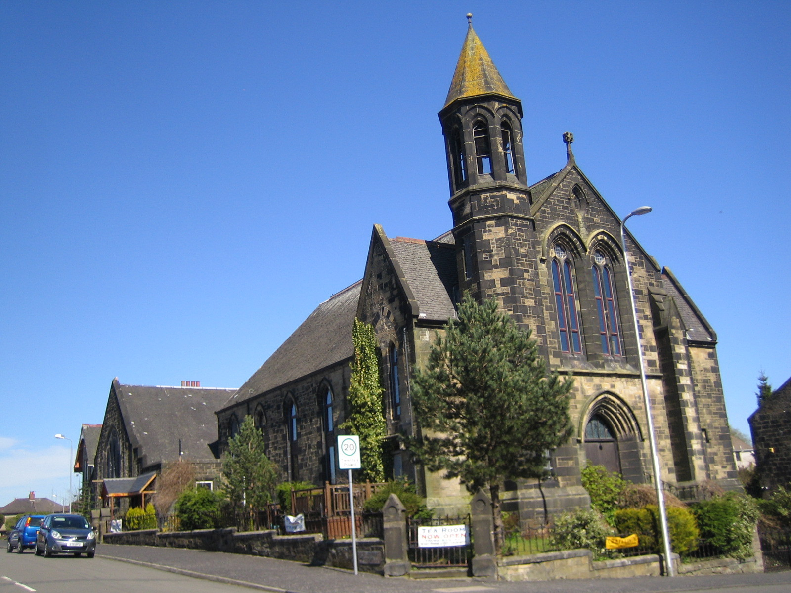 Former Coatdyke Parish Church