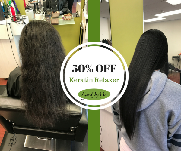 50% OFF Keratin Treatments!