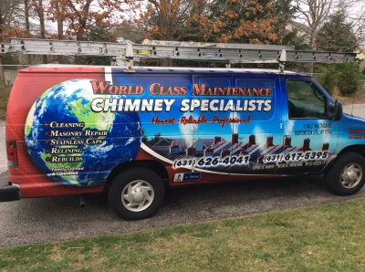 World Class Maintenance company van