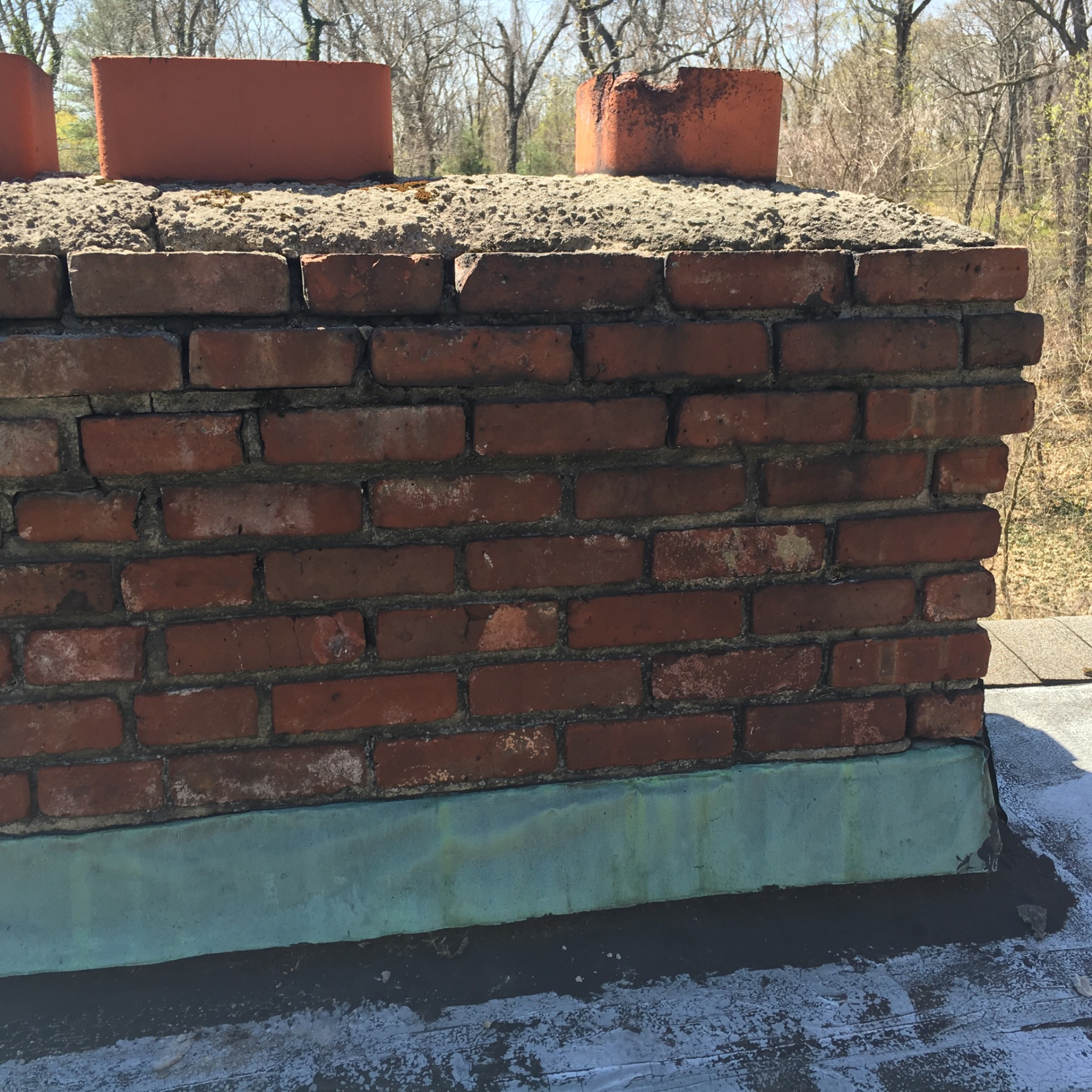 Before pic chimney