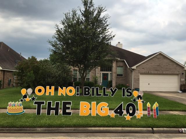 Oh No!  Big 4-0!