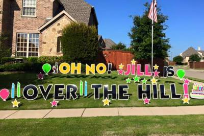 Oh No! Over The Hill!