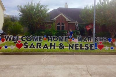 Welcome Home Marines!