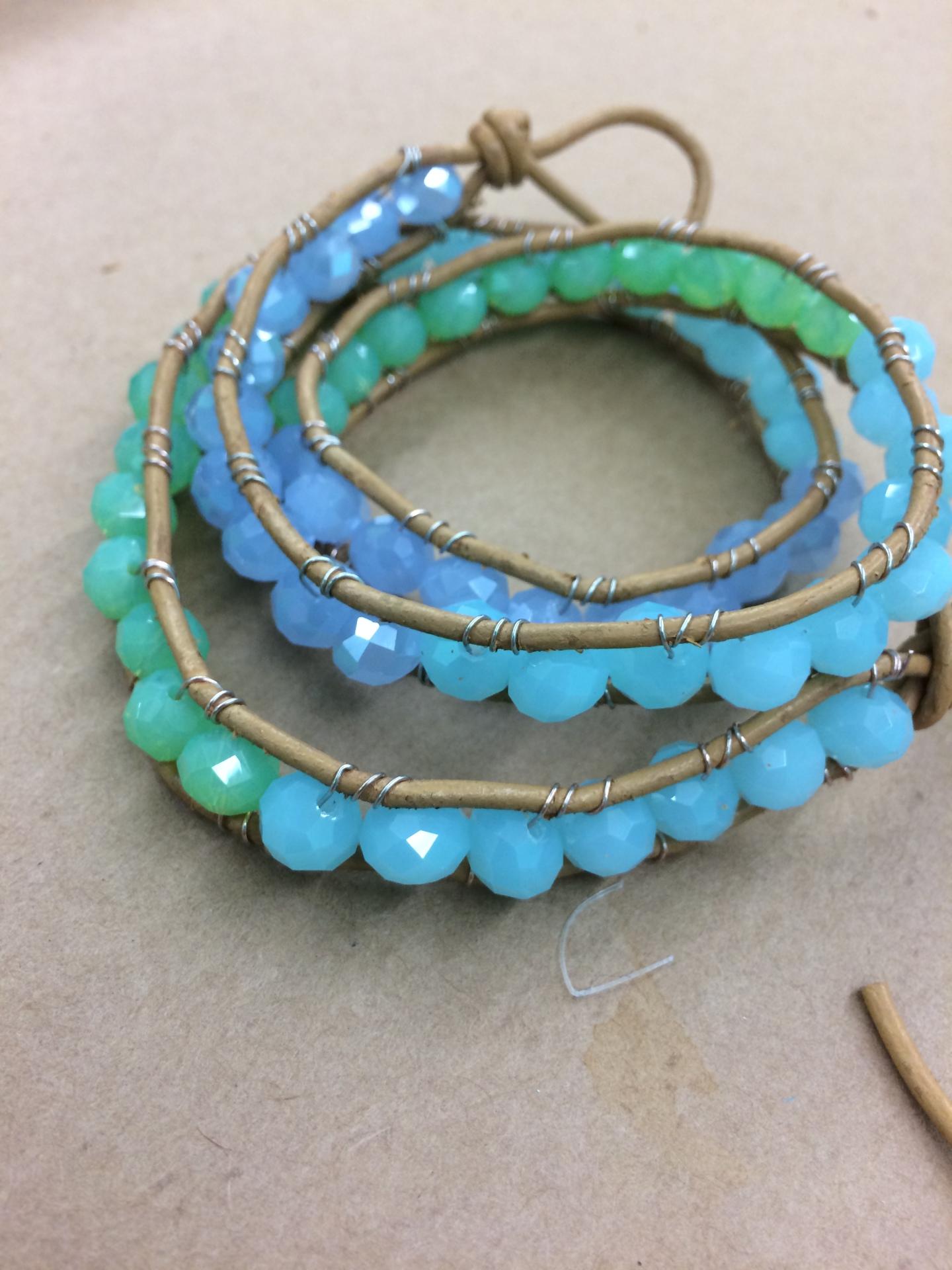 Infinity Wrapped Bracelet