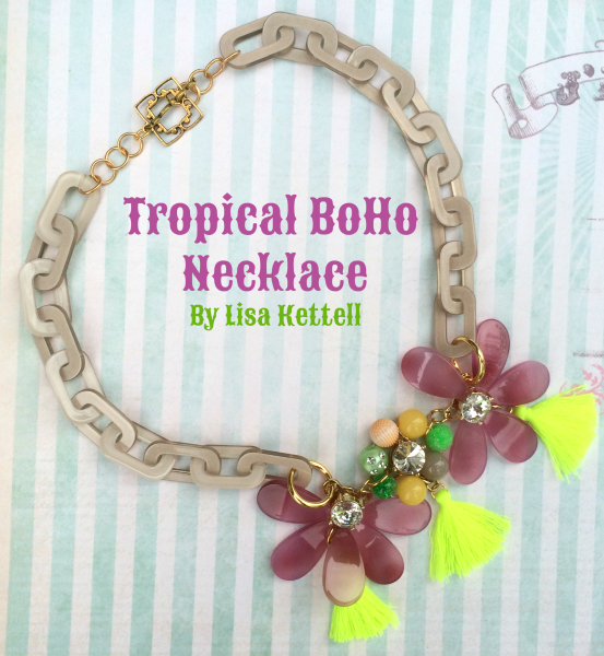 Tropical BoHo Necklace