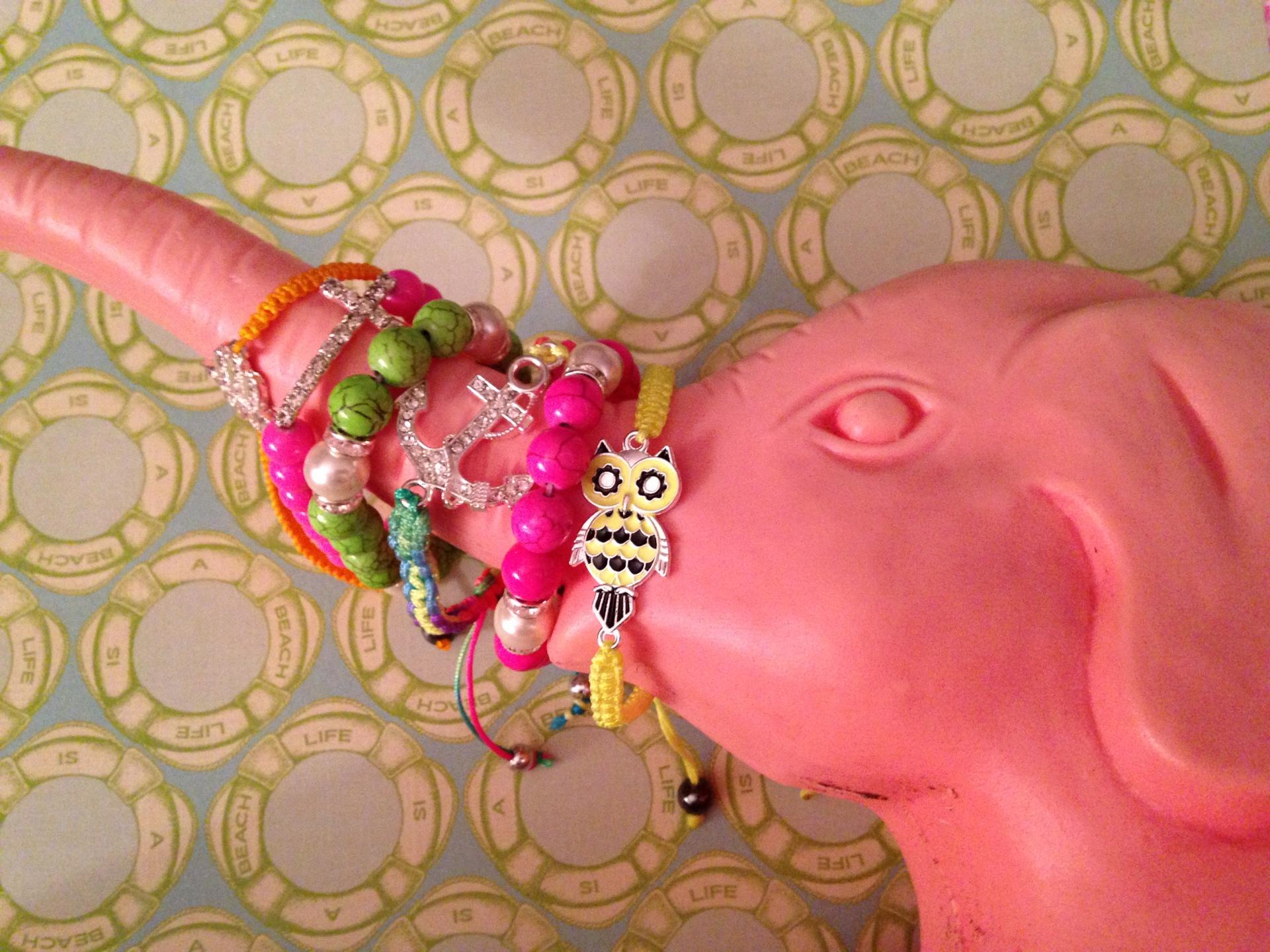 Pastel Boho Stacking Bracelets
