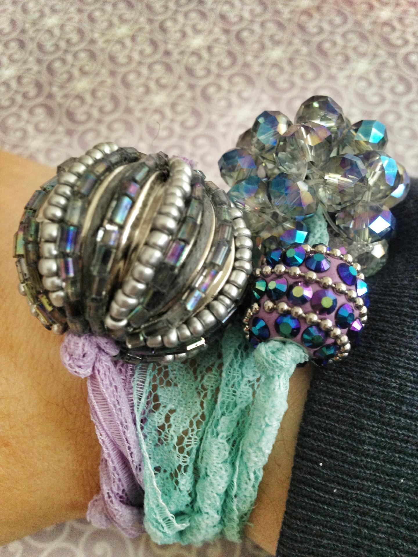 Boho Ribbon Bracelets