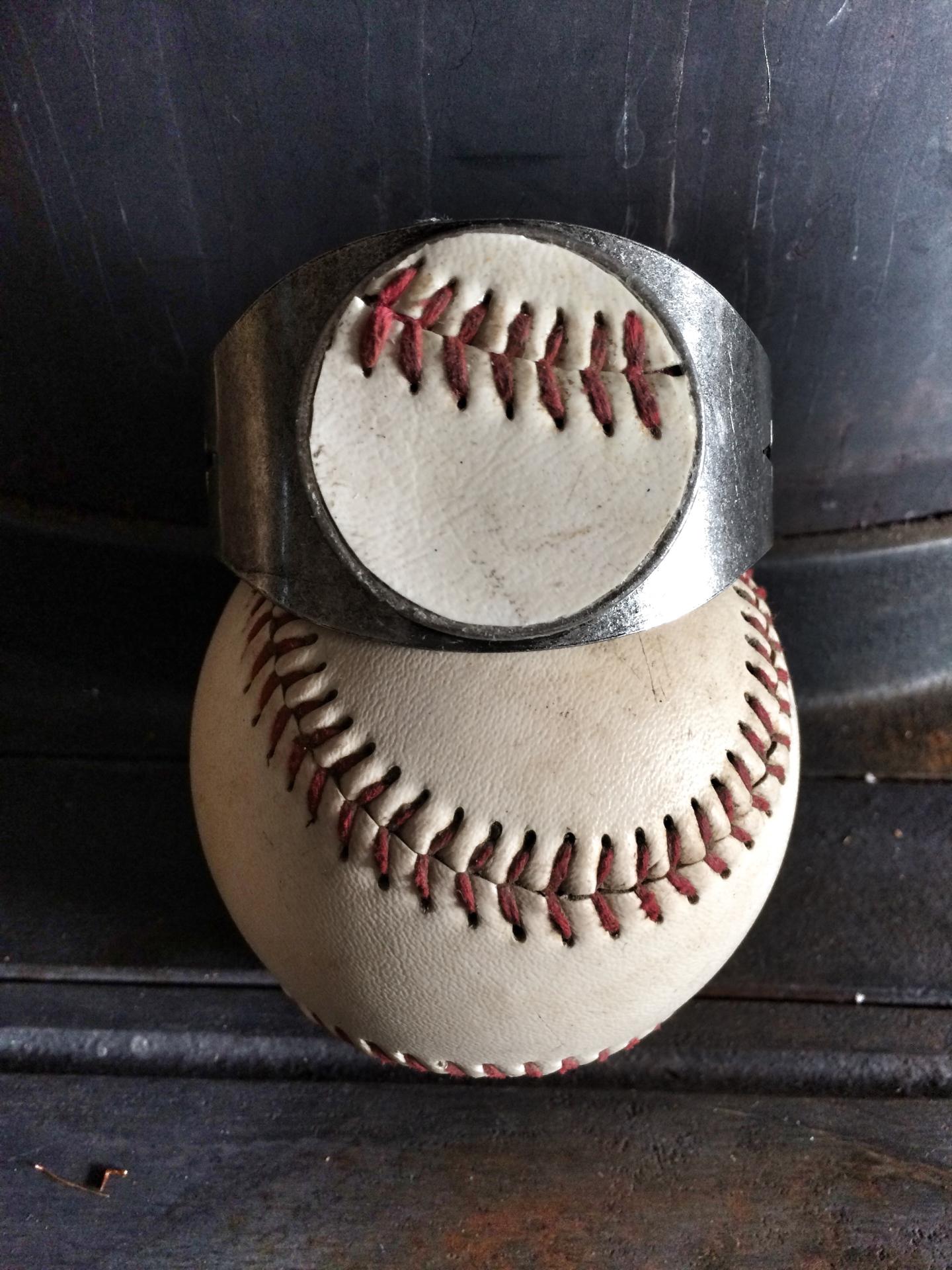 Metal Baseball Cuff